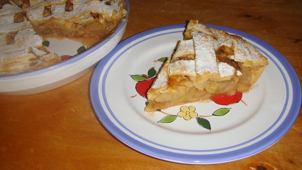 Különleges almás pite