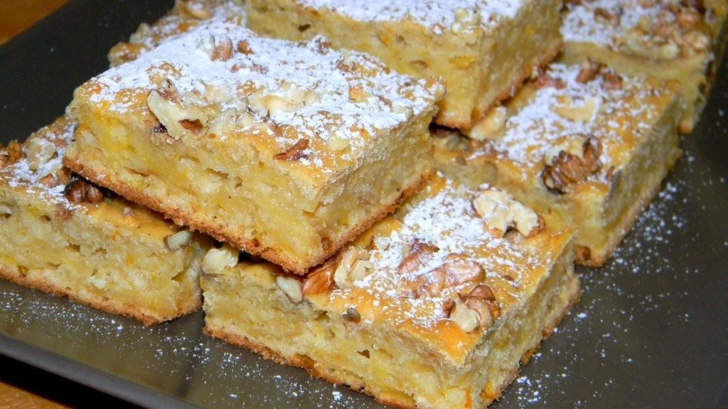 Diós-narancsos sütemény