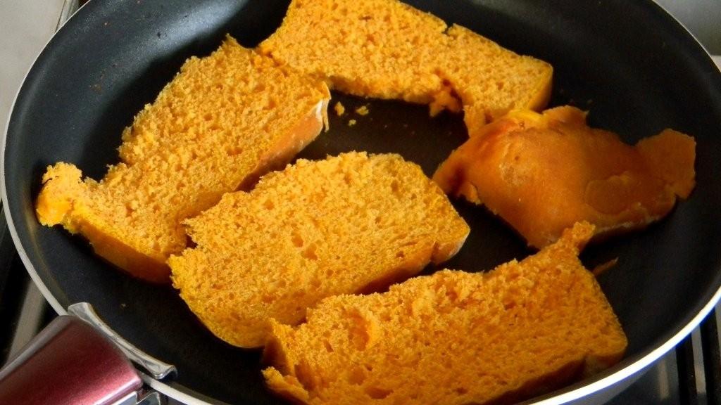 A narancsos sütőtök-kalácsból lett diótorta