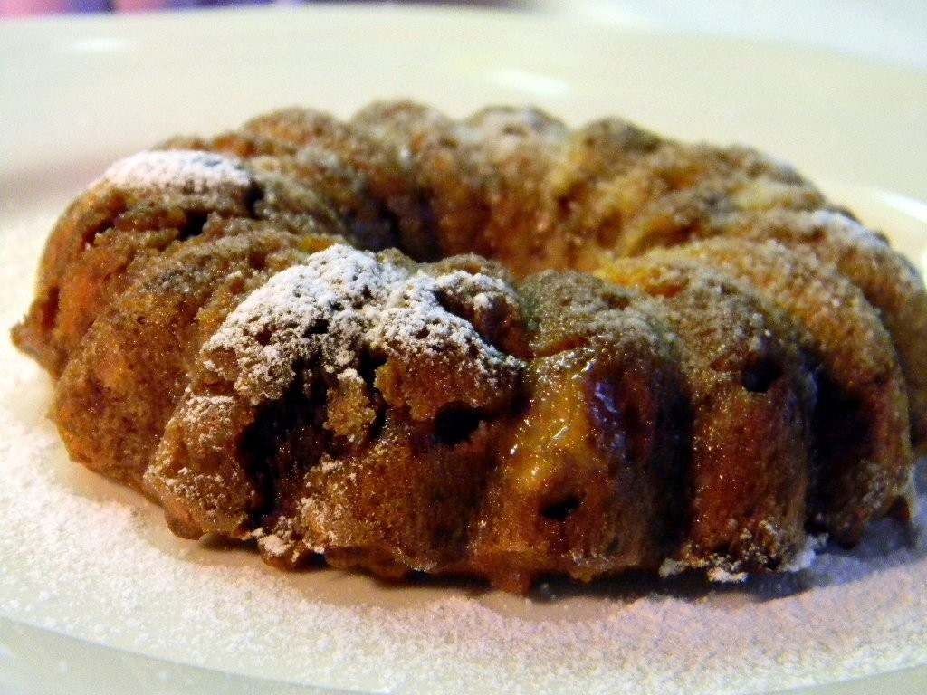 Csokis-banános zabpelyhes süti
