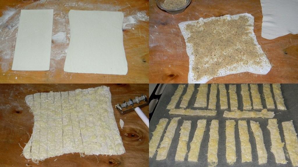 Diós-sajtos ropogós