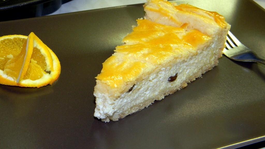 Narancsos (házi) túrós pite