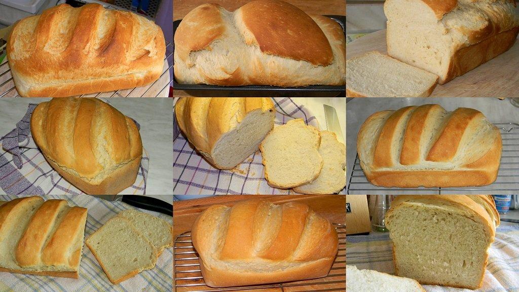Egyszerű, házi kenyér