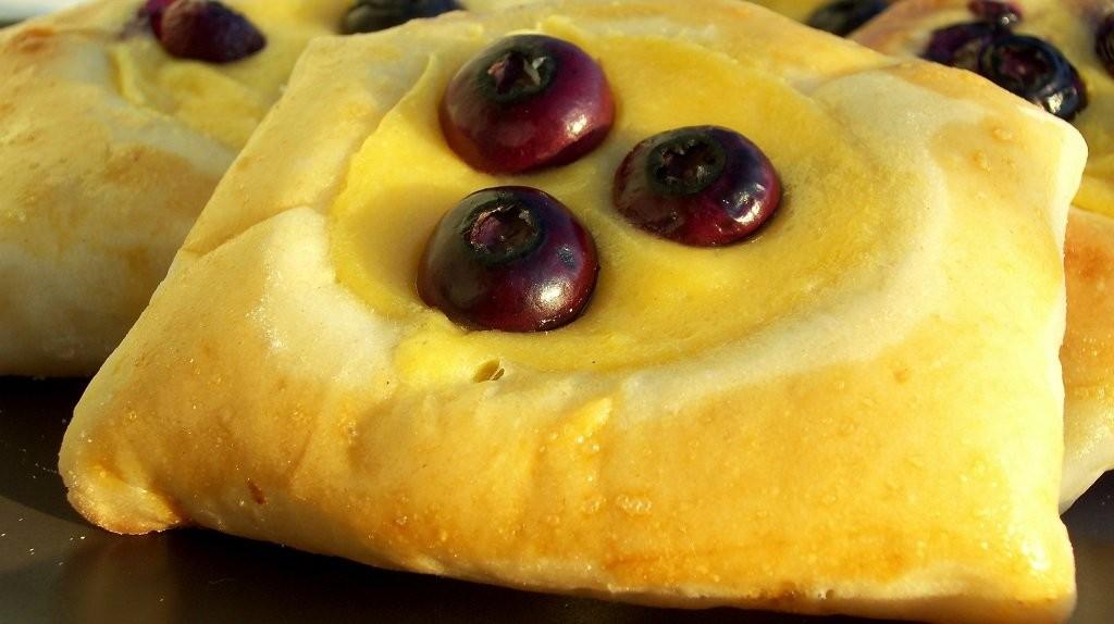 Áfonyás-vaníliás sütemény