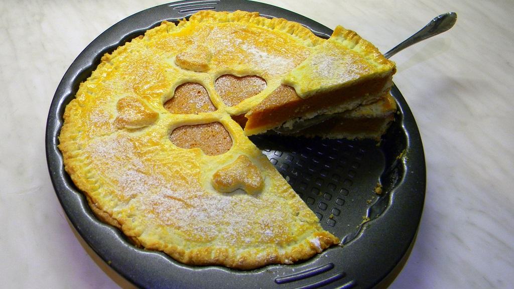 Sütőtökös pite