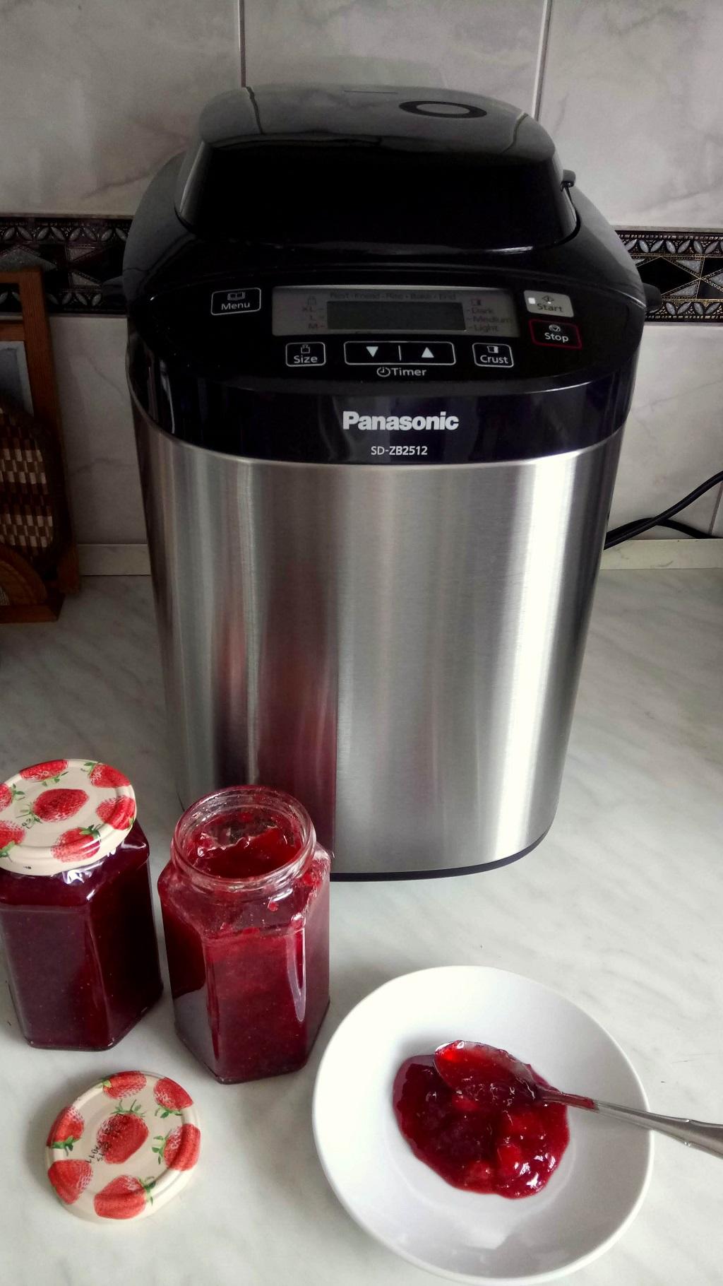Lekvárfőzés a Panasonic SD-ZB2512 automata kenyérsütő gépével